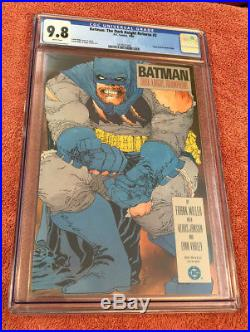1986 BATMAN THE DARK KNIGHT RETURNS #2 CGC 9.8 NM+ 1st NEW ROBIN DC FRANK MILLER
