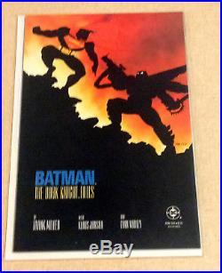 1986 Batman The Dark Knight Returns 1 2 3 4 DC Comic Set Frank Miller Jla Joker