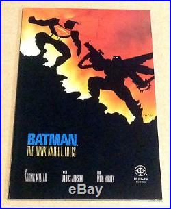 1986 Batman The Dark Knight Returns 1 2 3 4 DC Comics Set Frank Miller Joker Nm+