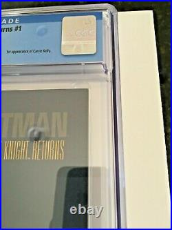 1986 Batman The Dark Knight Returns #1 CGC 9.4 WHITE Miller 1st app Carrie Kelly