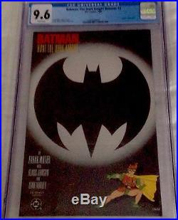 1986 Batman The Dark Knight Returns Cgc Set 1 2 3 4 9.4-9.8 Nm+ DC Frank Miller
