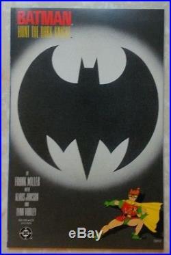 1986 Batman The Dark Knight Returns Full Set 1-4 All 1st Print DC Comics Miller