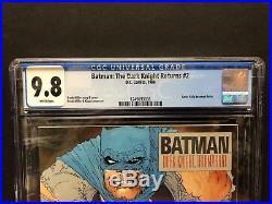 1986 DC Comics Batman The Dark Knight Returns #2 CGC 9.8 KRG059