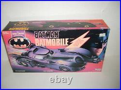 1989 Batman BATMOBILE Dark Knight Collection Kenner NEW BOX Keaton Joker Movie
