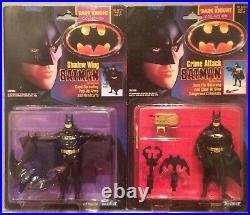 1990 2 x Dark Knight Collection BATMAN Shadow Wing And Crime AttackBNIB