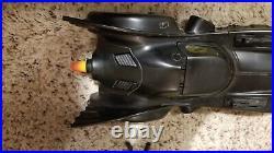 1990 Batmobile Kenner Dark Knight Collection Near Complete with Bonus Figure