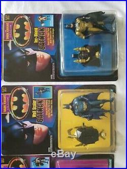 1990 Kenner BATMAN THE DARK KNIGHT COLLECTION lot shadow wing bruce wayne power