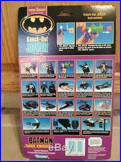 1990 Kenner Batman The Dark Knight Collection Knock-Out Joker With Bazooka New