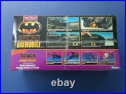 1990 Kenner Dark Knight Batman Collection Batmobile, New in Box, Sealed