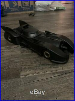 1990 Kenner The Dark Knight Collection Batmobile (1989 Michael Keaton Batman)