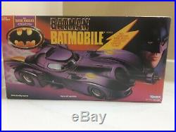 1990 Kenner The Dark Knight Collection Batmobile (Factory Sealed)