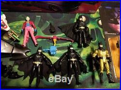 1990 Kenner The Dark Knight Collection Lot Batmobile 100% Complete Joker Batman