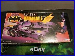 1990 Kenner The Dark Knight Collection Lot Batmobile 100% Complete Joker Batman