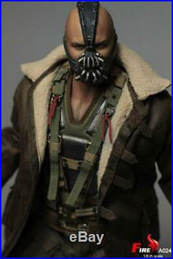 1/6 Scale Bane Action Figure Movie Batman The Dark Knight 12in. Toy Collection
