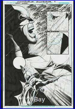 2013 DC Comics BATMAN The Dark Knight #21 pg 5 ORIGINAL ART Ethan Van Sciver
