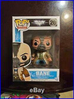 Authentic Bane (The Dark Knight Rises) Funko Pop #20 NEW