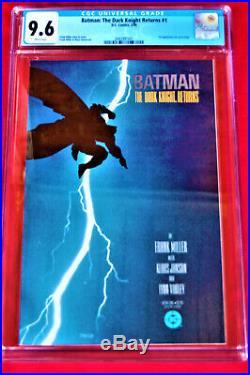 BATMANTHE DARK KNIGHT RETURNS #11st PRINTINGCGC GRADE 9.6Frank Miller Script