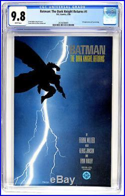 BATMANTHE DARK KNIGHT RETURNS #11st PRINTINGCGC GRADE 9.8 #2074338001