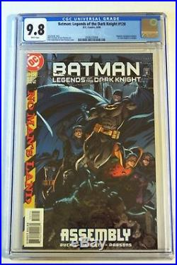 BATMAN LEGENDS OF THE DARK KNIGHT #120 CGC 9.8 (1st Cain in Batgirl costume)