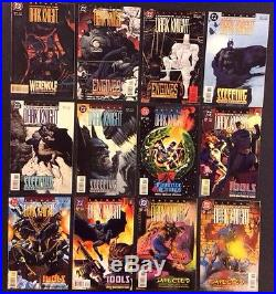 BATMAN LEGENDS OF THE DARK KNIGHT #1 100+ Comic Book Lot Complete VF/NM 1989