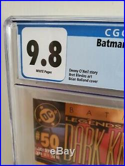 BATMAN LEGENDS OF THE DARK KNIGHT #50 CGC 9.8 Classic Brian Bolland Joker Cover