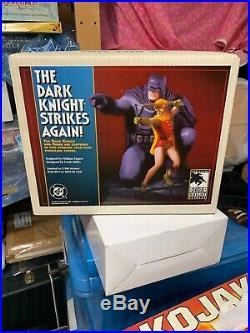 BATMAN ROBIN The Dark Knight Strikes Again Ltd Ed STATUE 3366/5500 Frank Miller