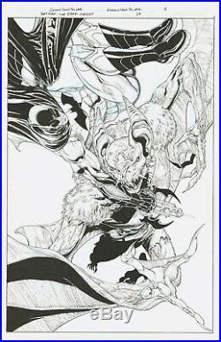 BATMAN THE DARK KNIGHT #28 PAGE 18 SPLASH by ETHAN VAN SCIVER