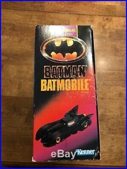 BATMAN THE DARK KNIGHT COLLECTION BATMOBILE KENNER VINTAGE 1989 Michael Keaton