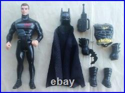 BATMAN THE DARK KNIGHT COLLECTION Set Kenner 5 figures Joker Bruce Wayne 1989