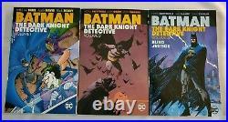 BATMAN THE DARK KNIGHT DETECTIVE LOT of 3 TPB, VOL. 1, 2, & 3 DC COMICS NEW