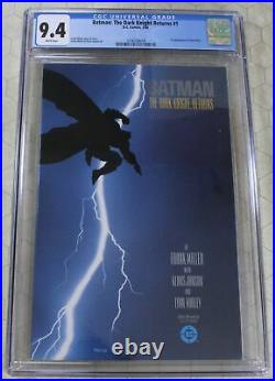 BATMAN THE DARK KNIGHT RETURNS #1 (1986) CGC 9.4 1st App Carrie Kelly