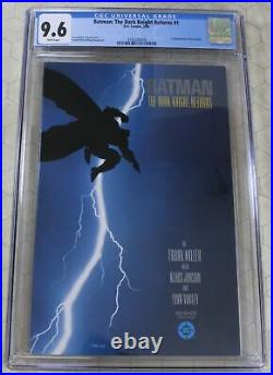 BATMAN THE DARK KNIGHT RETURNS #1 (1986) CGC 9.6 1st App Carrie Kelly