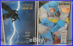 BATMAN THE DARK KNIGHT RETURNS #1 2 3 4 (Full Run 1-4, First Prints) DC 1986