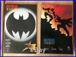 BATMAN THE DARK KNIGHT RETURNS #1 2 3 4 (Full Run 1-4, First Prints) DC 1986 NM