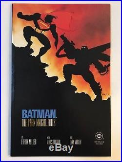 BATMAN THE DARK KNIGHT RETURNS #1 2 3 4 (Full Run, First Prints) Miller DC 1986