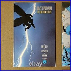 BATMAN THE DARK KNIGHT RETURNS #1-4 (1986) 1st PRINT, SHARP COPIES