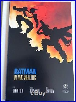 BATMAN THE DARK KNIGHT RETURNS 1-4 + DK2 1-3 FRANK MILLER 1st PRINTS