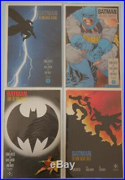 BATMAN THE DARK KNIGHT RETURNS 1-4 NM 1st Printings (Frank Miller)