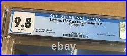 BATMAN THE DARK KNIGHT RETURNS #1 CGC 9.8 NM+ WHITE PAGES 1st print Frank Miller
