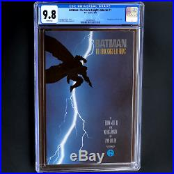 BATMAN THE DARK KNIGHT RETURNS #1 CGC 9.8 WHITE PGs 1st Print Carrie Kelly