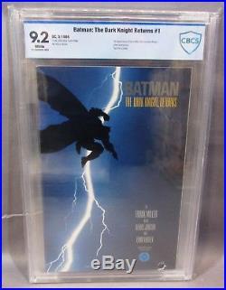 BATMAN THE DARK KNIGHT RETURNS #1 (First Print) CBCS 9.2 NM- DC Comics 1986 cgc