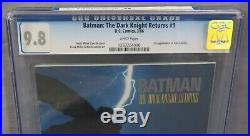 BATMAN THE DARK KNIGHT RETURNS #1 (First Print & Carrie Kelly) CGC 9.8 DC 1986