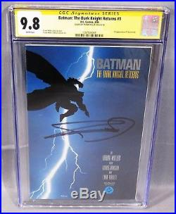 BATMAN THE DARK KNIGHT RETURNS #1 Frank Miller Signed 1st Print CGC 9.8 DC 1986