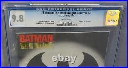 BATMAN THE DARK KNIGHT RETURNS #3 (First Print) CGC 9.8 NM/MT DC Comics 1986