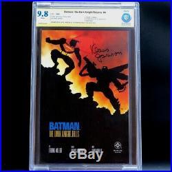 BATMAN THE DARK KNIGHT RETURNS #4 9.8 CBCS SS SIGNED KLAUS JANSON! Like CGC