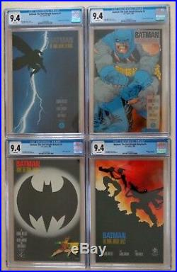 BATMAN THE DARK KNIGHT RETURNS (CGC 9.4 White Pages) #s 1-4 + Trade Paperback