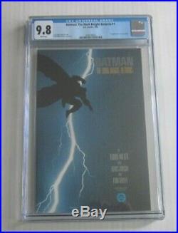 BATMAN THE DARK KNIGHT RETURNS DC Comics #1 CGC 9.8 WHITE 1st Print Carrie Kelly