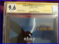 BATMAN THE DARK KNIGHT RETURNS Full series all CGC 9.6 Signed by Frank Miller