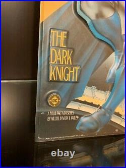 BATMAN THE DARK KNIGHT RETURNS Raised Relief Promo Standee DC 1985 Miller