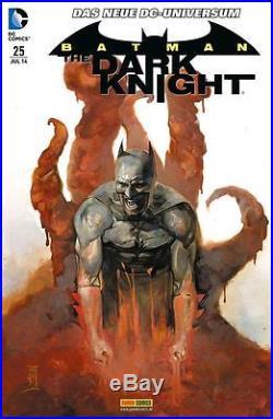 BATMAN-THE DARK KNIGHT deutsch #0,1-31/2012 komplett NIGHTWING Neue DC Universum